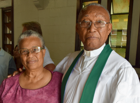 Rev Dr Davidson and Mrs. Davidson